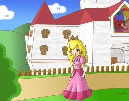Welcome to Peach Castle... by SugarJem