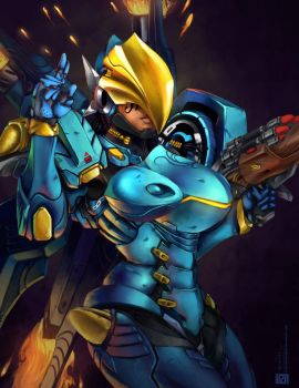 Pharah by EnigmaticEnigma