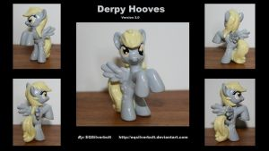 Derpy Hooves Version 3.0! by EQSilverbolt