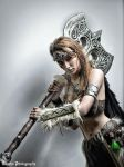 Female Dovahkiin Cosplay #21 by DmC - Euphro P. by DrawMeaCosplay