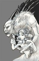 The Beast and the Beauty by zirofax