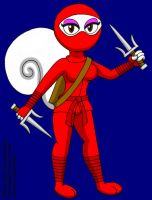 The Red Squirrel Ninja by CaseyDecker