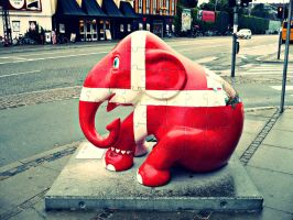 Copenhagen Elephant Parade 23 by Skorpiotronik