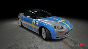 Mazda MX-5 Bilsport Race Car by OutcastOne