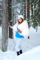 Lidia in Winter 5 by SmileyG