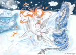 Fire VS Ice by Unsaintly-Angel