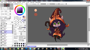 League of Legends: Lulu Preview 2 by AnaNoArt