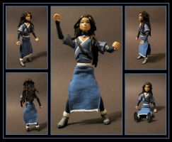 katara custom figure  -  commission by nightwing1975
