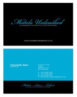Model agent business card by designworx