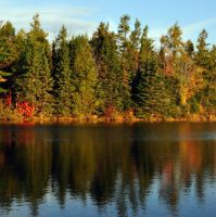 Fall Reflections 3 by Brian-B-Photography