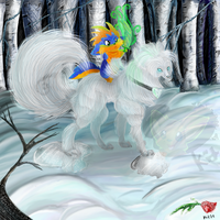 Tamed Icebeast by TheStripedKit