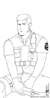 Chris Redfield by rabbitsontherun