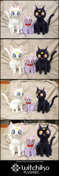 Artemis:::Diana:::Luna from Sailor Moon by Witchiko