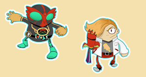 OOO stickers by SolomonMars
