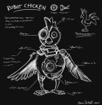 Robot Chicken by ZombiDJ