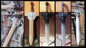 Nightingale sword: progress and finish by Cita555