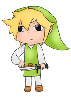 First attempt at Toon Link by PokemonBWishesCilan