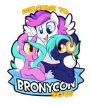 Blank Canvas Hoof Beatz Mane Event ~Bronycon 2015 by onnanoko