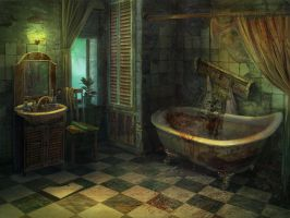 Mansion Bath by julijuly