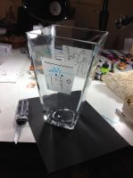 15 inch cut glass vase 2 - wip by Mark-D-Powers