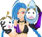 Jinx  and poros (Clear Ver) by atomskcs
