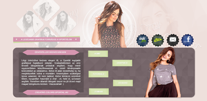 Unused Lucy Hale header by Nikrecia
