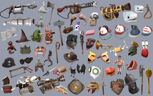 TF2 Items Collab by Ducksink