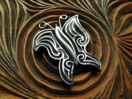 BUTTERFLY PENDANT by MassoGeppetto