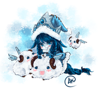 Winter Wonder Lulu_coloured by AkinoKourui