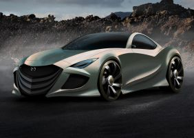 Mazda-Concept final by Morfiuss