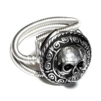 CyberGoth Skull Ring by CatherinetteRings