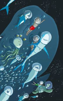 Sharks in Space by PascalCampion