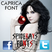 CAPRICA FONT by SpideRaY