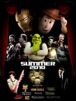 Summer 2010 Poster by GeekTruth64