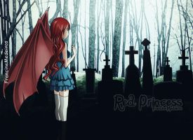 Cemetery by theredprincess