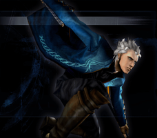 Devil May Cry 3 SE - Yamato Vergil Mission Clear 4 by Elvin-Jomar
