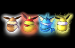 Eevee Eggs Wallpaper Gen 1 by DarthSuki