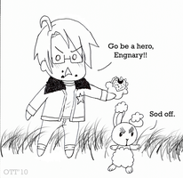 GO ENGNARY by over-the-top