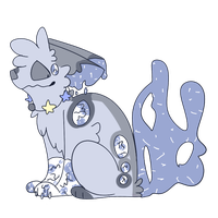 rare starry Lampling | ota | closed by Cinderlime
