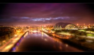 Newcastle Sunrise 07:27 - HDRi by Wayman