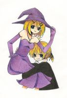 Happy Halloween (?) :D by Lyn-x3