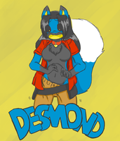 Desmond - Badge by Robertge