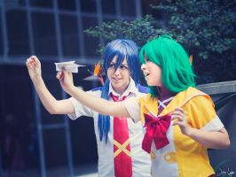 Alto and Ranka Cosplay by SNTP