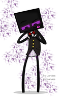 .:Tux the Enderman:. by Mintychipy