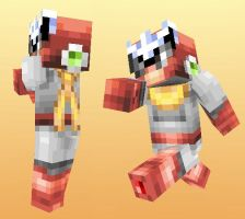 Minecraft skin - Protoman by FontesMakua