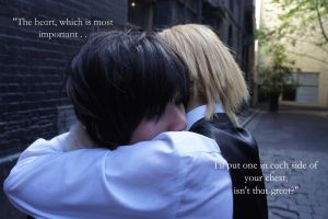 Durarara: Shizuo and  Izaya's Heart by Aoi-channnu