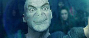 Voldemort and Mr. Bean Collide by kerog6