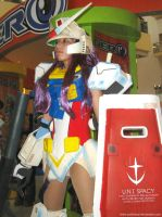 Mobile Suit Gundam Girl 8 by polidread