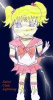 Sailor Chibi Lightning by FlyingTanuki