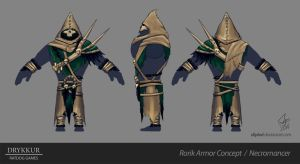 Necromancer Armor Concept by slipled